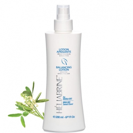 BALANCING LOTION with ORGANIC Sweet clover for sensitive skin 200 ml - 6 3/4 fl oz